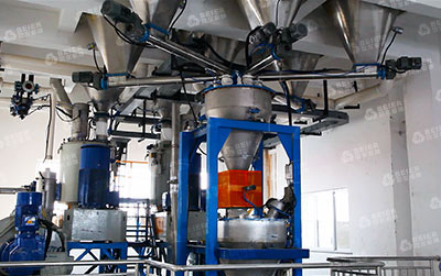 PVC Automatic Compounding and Feeding System