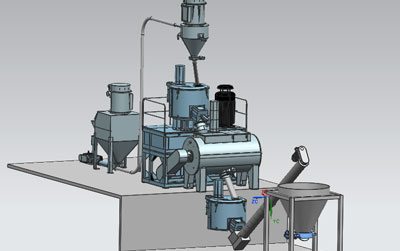 Pvc Automatic Mixing Feeding System