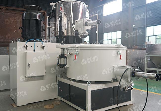 PVC-compounding-mixer